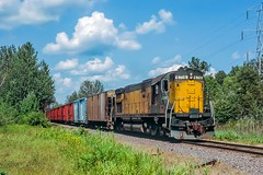 Away From the Ore (douglilly) Tags: chicagonorthwestern littlesuamico c628