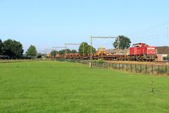 DB Cargo 6465 @ Hattemerbroek (Sicco Dierdorp) Tags: db dbc cargo serie6400 robel veluwelijn hattemerbroek zwolle wezep