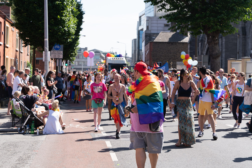 ABOUT SIXTY THOUSAND TOOK PART IN THE DUBLIN LGBTI+ PARADE TODAY[ SATURDAY 30 JUNE 2018] X-100207