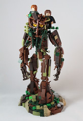 Treebeard the Ent (cypiratemocs) Tags: lotr tolkien two towers fangorn ent treebeard tree beard hobbit lord rings entish isengard lego moc creation build