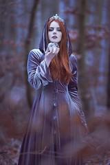 Elven Dreams (anjelicahyde) Tags: redhead lordoftherings canon naturallight color dream darkbeauty fairytale fineart fantasy fairy model photographer photoshop photography