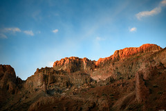 Catching the first light (Rico the noob) Tags: 2018 rock d850 landscape nature mountains outdoor 2470mmf28 clouds published dof 2470mm sky tenerife teneriffa sunrise stones rocks