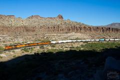 Kingman Canyon (ColoradoRailfan) Tags: bnsf bnsfrailway bnsfseligmansub seligmansub intermodaltrain