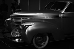 1939 GRAHAM COMBINATION COUPE -510554- (Terry Frederic) Tags: art artsculpture automobiles canon5dmkiii canonef24105mm chromaticgrayscale graham1939 lightroom614processed oregon photoshop portland portlandartmuseum terryfrederic theshapeofspeed usa worldcars