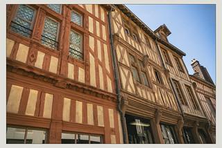Colombages à Joigny