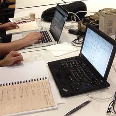Working on ZUSE Z22 schematics... (Museo dell'Informatica Funzionante) Tags: musif miai freaknet dyneorg trasformatorio