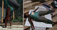 Backyard Yoga: P E A C E F U L  P R A C T I C E (ZoeyNova Moonchild Oatsmill) Tags: yoga secondlife zaara chez moi chezmoi