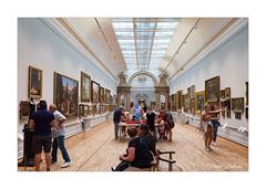 Nottingham Castle - Long Gallery (PeteZab) Tags: nottingham castle longgallery art people uk museum peterzabulis
