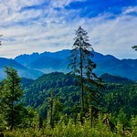 Mountains and forest near Hechtsee in Tyrol, Austria thumbnail