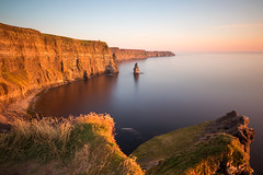 The Cliffs of  Moher (explored) (Hibernia Landscapes (sjwallace9)) Tags: ireland clare cliffs moher wildatlanticway