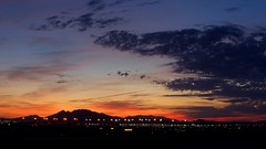 Sunrise @ McCarran (Jslark91) Tags: vegas clarkcounty d5600 morning lasvegas sunrise aviation nv solar tamron county las sun clark nevada landscape airport mccarran lv 18400mm sky