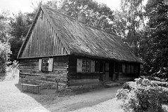 Scan-110921-0015 (marek.golkowski) Tags: poland polska skansen olsztynek analogphotography analog filmphotography monochrome pentax pentaxian cottage vilage