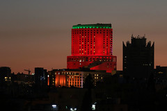The World Lights Up Red for Inclusion! (Special Olympics Europe_Eurasia) Tags: amman jordan jor