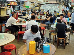 Canteen (markb120) Tags: food meal eating fare meat feed restaurant saloon canteen eatery mess refectory cantina buffet sideboard cupboard bar table repast chair man person human individual humanbeing fellow people sit sitting seated