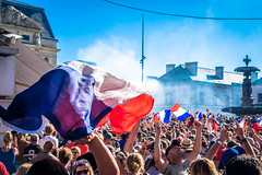 We were lucky enough to enjoy celebrations with thousands of others as France won the world cup.