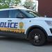 University of Akron Police Ford Police Interceptor utility
