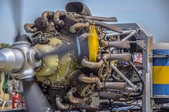 Bristol Hercules (StevePilbrow) Tags: bristol hercules aircraft engine historic aero engines vintage flight ground run classic sports car show flywheel festival raf bicester heritage centre june 2018 nikon d7200 nikkor 18105mm