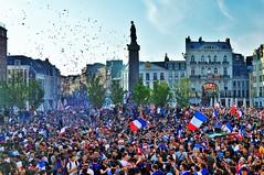 Lille fête la victoire des Bleus en coupe du monde (lecocqfranck) Tags: lille victoire coupe monde football