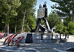 Monument to the Lost Ships (DementyD) Tags: monument anchor street city park astrakhan памятник улица город парк астрахань