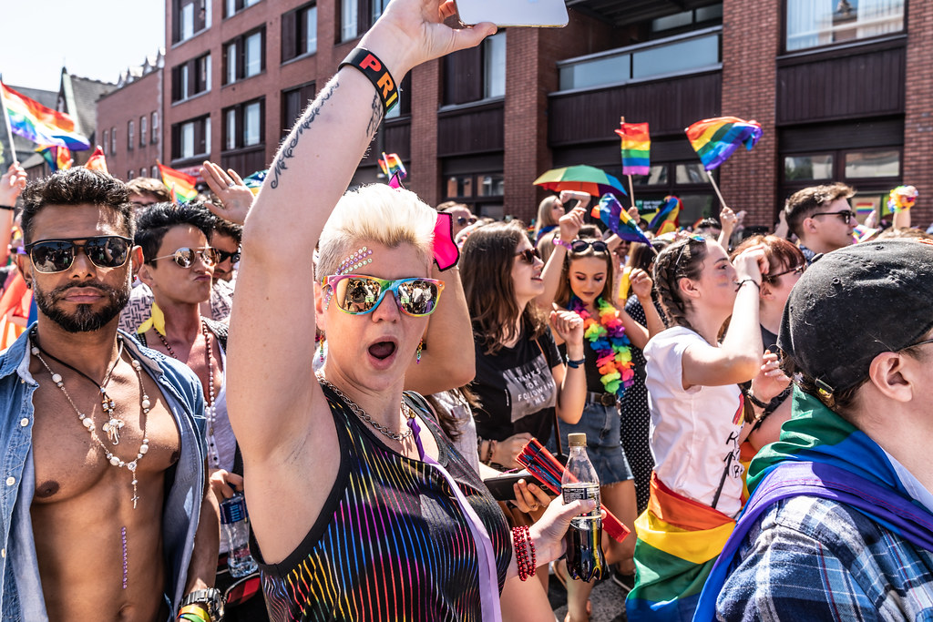 ABOUT SIXTY THOUSAND TOOK PART IN THE DUBLIN LGBTI+ PARADE TODAY[ SATURDAY 30 JUNE 2018] X-100235