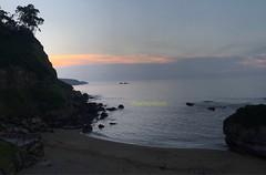 The first sunset of Summer, Estano beach,Gijon,Asturias,Spain (semeyesjosil) Tags: spain asturias gijon playa beach iphone7plus