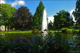 Der Palaisgarten in Detmold