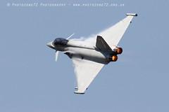 0087 Typhoon (photozone72) Tags: aviation airshows aircraft airshow yeovilton yeoviltonairday jets canon canon7dmk2 canon100400f4556lii 7dmk2 raf typhoon raftyphoondisplay eurofighter