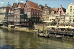 Lüneburg (Heinze Detlef) Tags: lüneburg stadt altbau altstadt hansestadt häuser architektur hanse wasser geschäfte