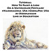 Learn to Paint a Lion on a Postcard