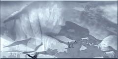 Paisaje ártico (seguicollar) Tags: lobos iglú nieve ártico frío invernal barco imagencreativa photomanipulación art arte artecreativo artedigital virginiaseguí fríoextremo
