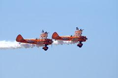Aerosuperbatics Wing Walkers Boeing Stearman (nick_britnell) Tags: southportairshow aerosuperbatics wingwalkers