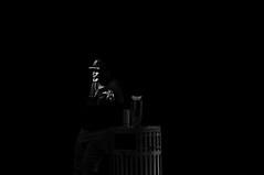 Yes Sir  !!! (imagejoe) Tags: vegas nevada street strip black white photography photos shadows reflections tamron people nikon