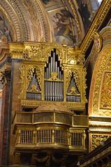 Organ [Valletta - 28 April 2018] (Doc. Ing.) Tags: 2018 malta museum ilbeltvalletta lavalletta valletta church cathedral saintjohnscocathedral cocathedral stjohn saintjohn romancatholic catholic baroque mattiapreti capital