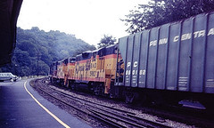 Baltimore & Ohio 5980 (CPShips) Tags: bo chessiesystem emd gp7 harpersferry 1977