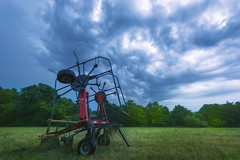 Storm Before Dawn Over the Hayfield.jpg (elektratig) Tags: newton newjersey unitedstates us