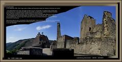 Luxembourg, Bourschied (chatka2004) Tags: grandducheduluxembourg luxembourg bourschied châteaufort château victorhugo