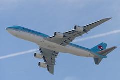 Korean Air Boeing 747-8 (kuni4400) Tags: koreanair ke kal hl7643 b748 jumbo kix rjbb aircraft airplane a7m3 sel70200g