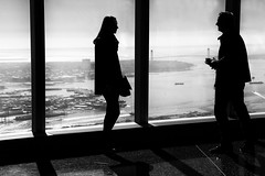 Discussion (erichudson78) Tags: usa nyc newyorkcity downtown worldtradecenter oneworldtradecenter silhouettes canonef24105mmf4lisusm canoneos6d noiretblanc blackandwhite nb bw manhattan contrejour backlight candid