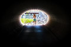 Basic Space (Thomas Hawk) Tags: cayman caymanislands grandcayman hotel julia juliapeterson ritzcarlton ritzcarltongrandcayman mrsth resort spouse tunnel vacation wife georgetown ky fav10 fav25 fav50 fav100