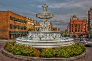 Brockville Ontario - Canada - King St. W. and Court House Ave - John H, Fulford Fountain