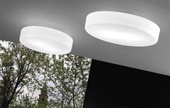 Sogno PP 55 - Vistosi - kinkiet/plafon nowoczesny (abanet.pl) Tags: abanetkrak lampy vistosi modern design o rabaty sogno kinkietplafon nowoczesny