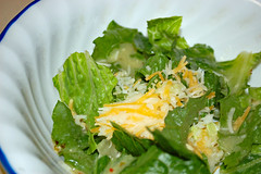Side Salad With Cheese. (dccradio) Tags: lumberton nc northcarolina robesoncounty indoors indoor inside food eat supper dinner meal lunch shreddedcheese cheese lettuce salad tossedsalad lettucesalad italiandressing corelle bowl saladbowl nikon d40 dslr