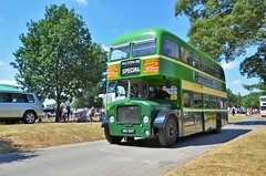 Aldershot & District 462 (stavioni) Tags: aldershot district green double decker bus dennis loline iii 462 462eot