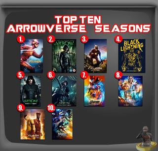 Top Ten Arrowverse Seasons