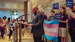 2018.07.17 #ProtectTransHealth Rally, Washington, DC USA 04712