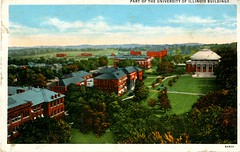 Part of the University of Illinois Buildings, postmarked 1931 (The Urbana Free Library Digital Collections) Tags: universityofillinoisaturbanachampaign champaignil urbanail studentorganizations students studenthousing illinois