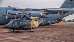CH-146 Griffon (Tony Howsham) Tags: canon eos70d sigma 18250 royal international air tattoo airshow raffairford static canadian ch146 griffon