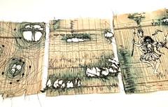 Market Data (Ines Seidel) Tags: newspaper financialtimes data market figures news indices machinestitching paperart commenting reading thread yarn pattern zeitung zeitungspapier paper zahlen aktienkurse