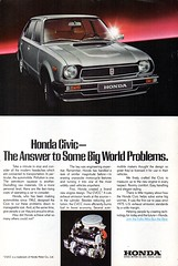 1978 Honda Civic 5 Door Hatchback USA Original Magazine Advertisement (Darren Marlow) Tags: 1 7 8 9 19 78 1978 h honda c civic hatchback car cool collectible collectors classic a automobile v vehicle j jap japan japanese asian 70s