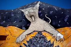 Monte Gordo, Wild Street Art L1004587 (x-lucena) Tags: montegordo algarve streetart